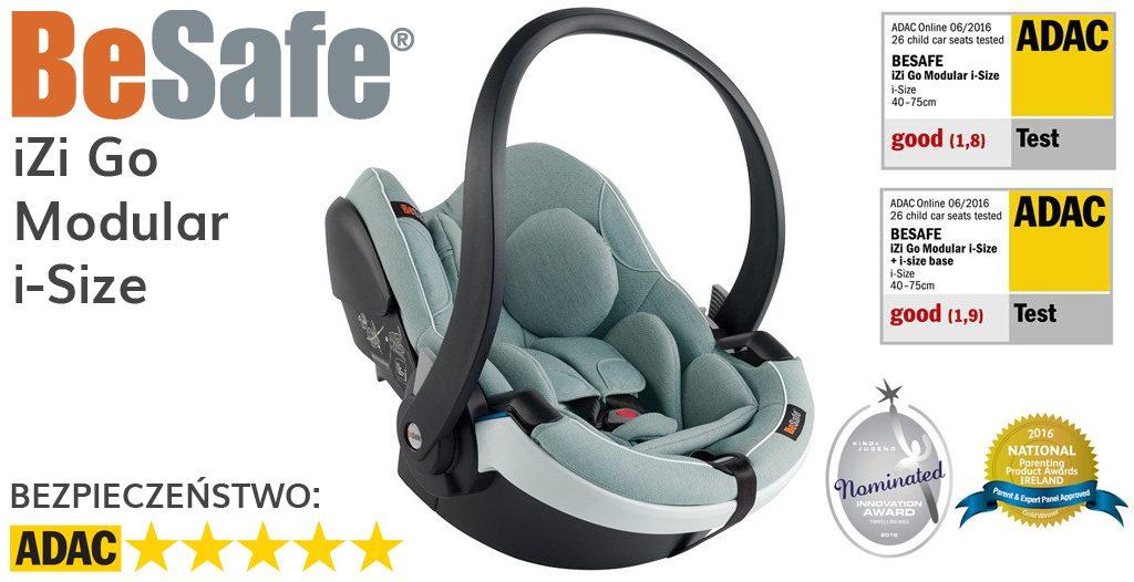 Jaki fotelik samochodowy dla noworodka - BeSafe iZi Go Modular i-Size