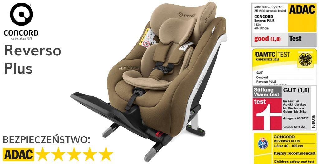 Jaki fotelik dla noworodka - Concord Reverso Plus
