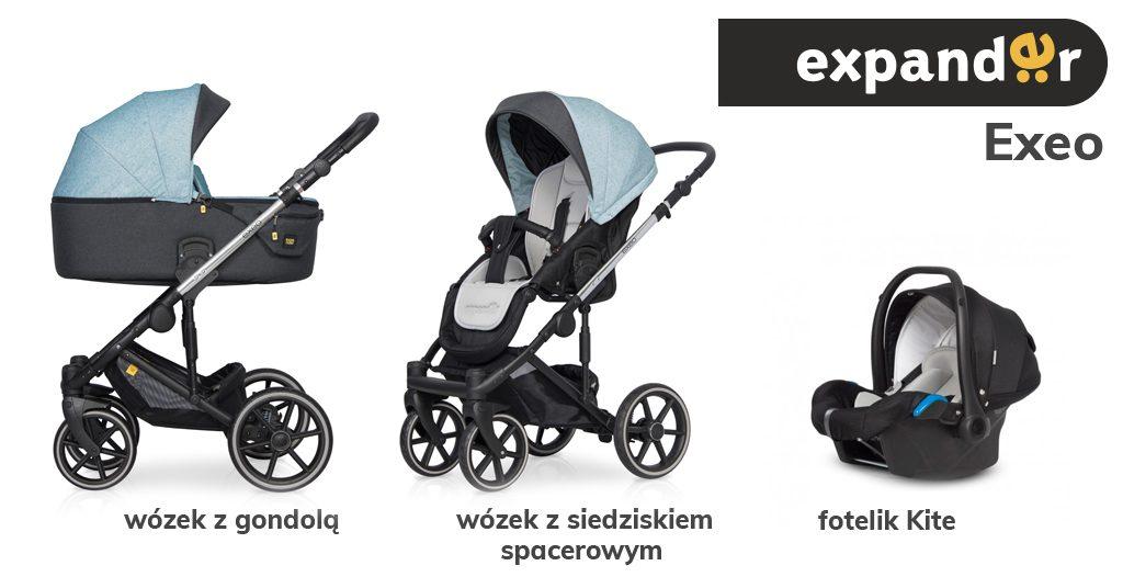 Jaki wózek 3w1 do 1500 zł - Expander Exeo