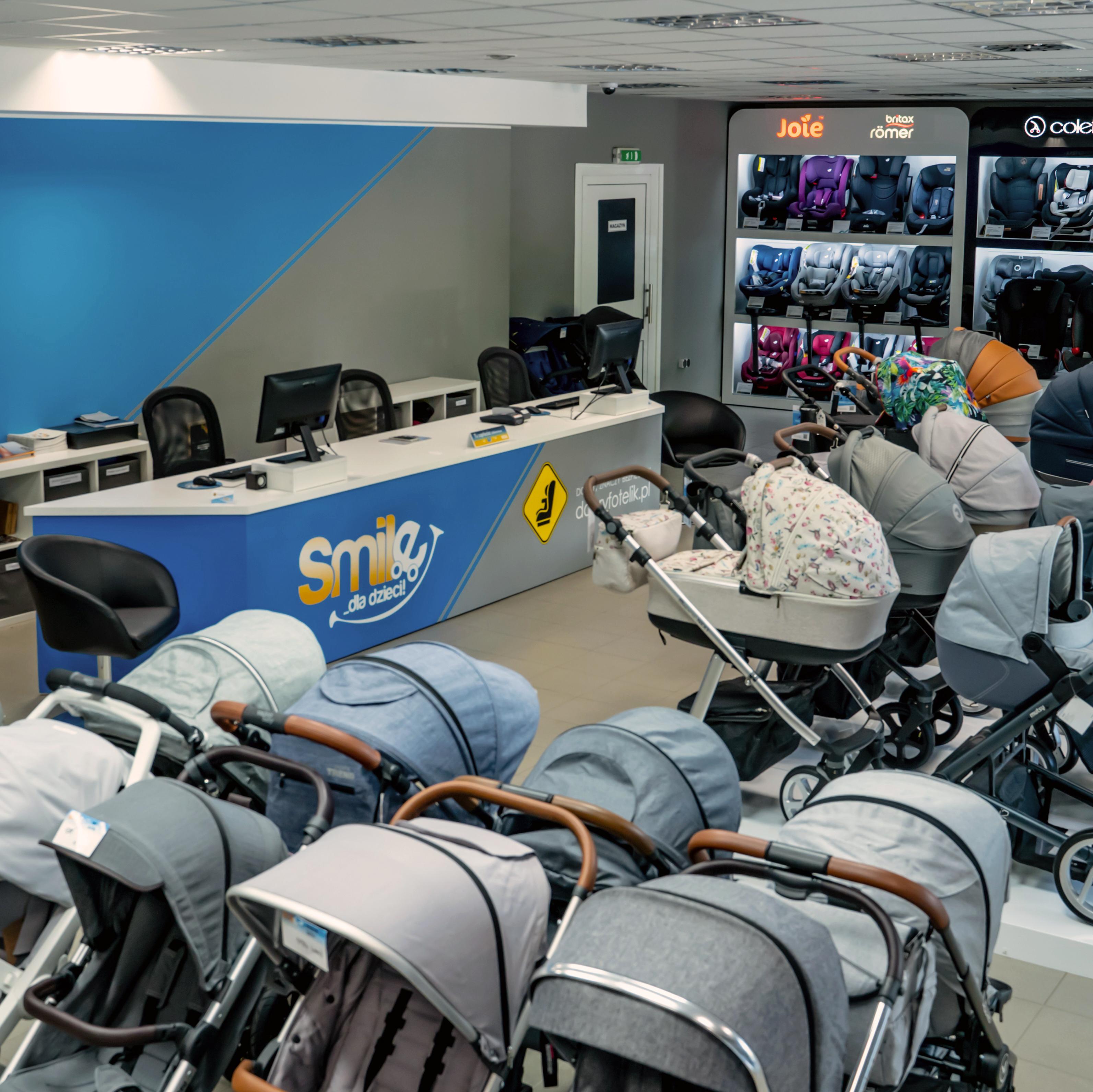 Smile - wózki dziecięce, foteliki samochodowe, akcesoria