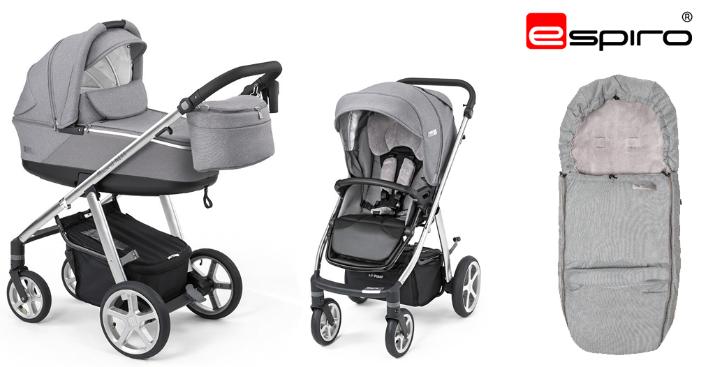 Jaki wózek dla dziecka urodzonego zimą - Wózki Espiro - sklep-smile.pl