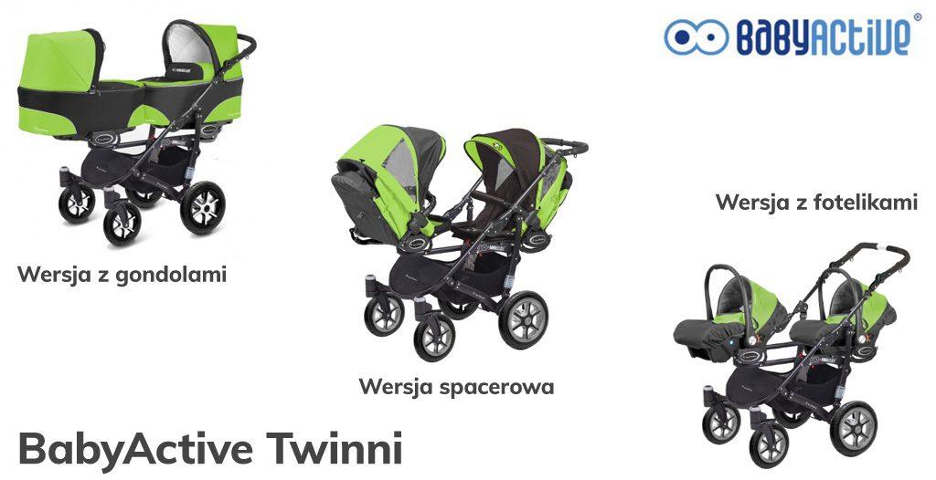 jaki wózek dla bliźniaków