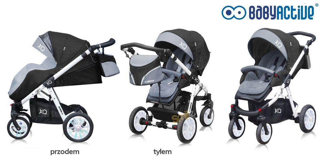 jaka spacerówka z przekładanym siedziskiem - baby active sport xq