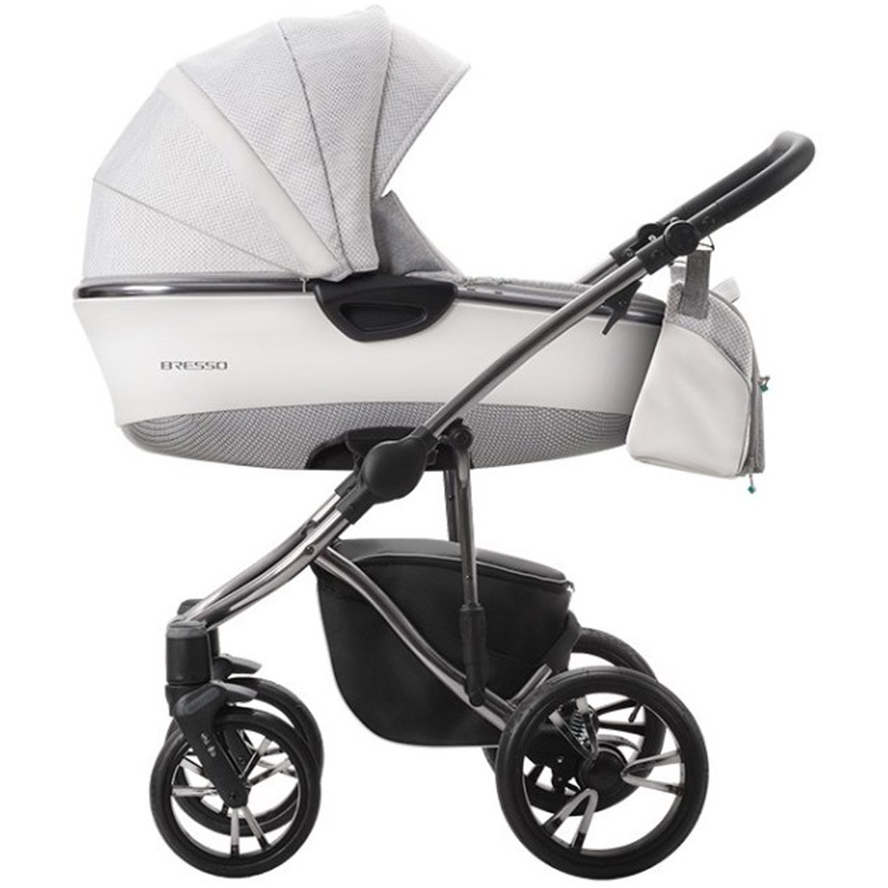 Szare wózki wielofunkcyjne - Bebetto Bresso Premium Class