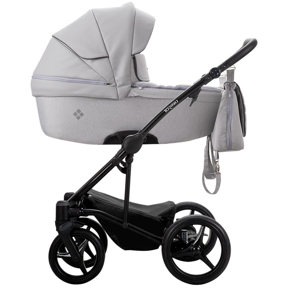 Szare wózki wielofunkcyjne - Bebetto Torino