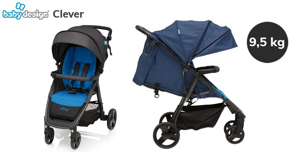 Jaki wózek do bloku bez windy - Baby Design Clever