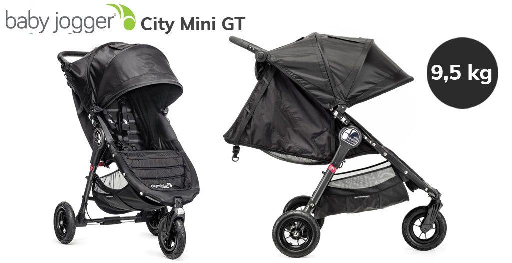 Jaki wózek do bloku bez windy - Baby Jogger City Mini GT