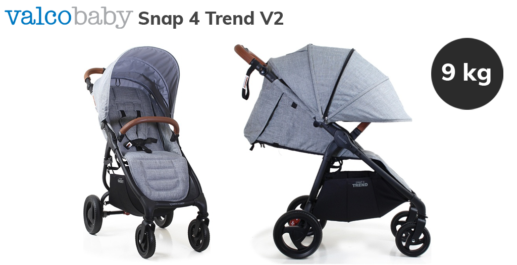 Jaki wózek do bloku bez windy - Valco Baby Snap 4 Trend VS