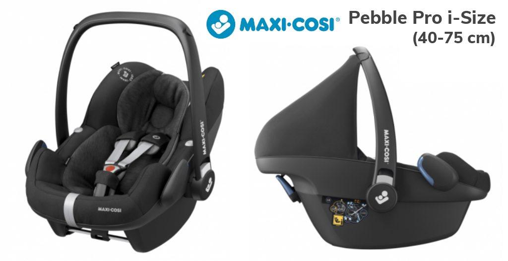 Jaki fotelik samochodowy dla noworodka - Maxi-Cosi Pebble Pro i-Size - Blog - Sklep-Smile.pl