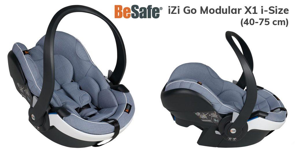 Jaki fotelik samochodowy dla noworodka - Besafe iZi Go Mudular - Blog - Sklep-Smile.pl