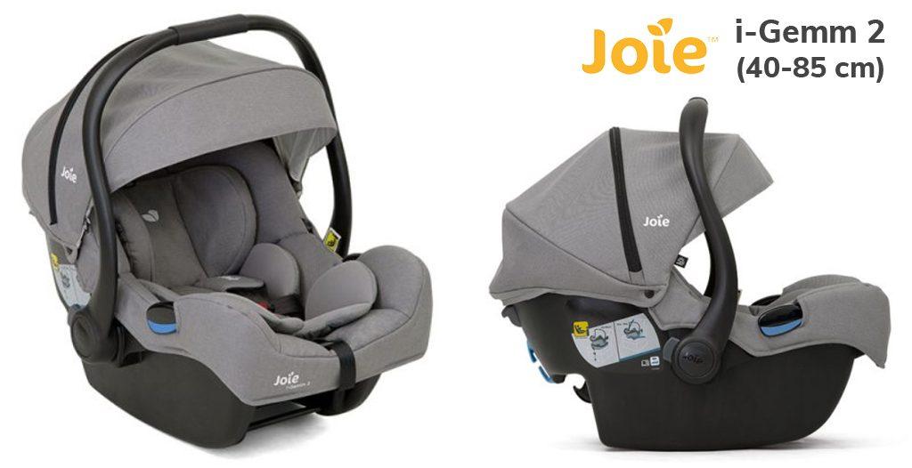 jaki fotelik samochodowy dla noworodka - Joie i-Gemm 2 - Blog - Sklep-Smile.pl