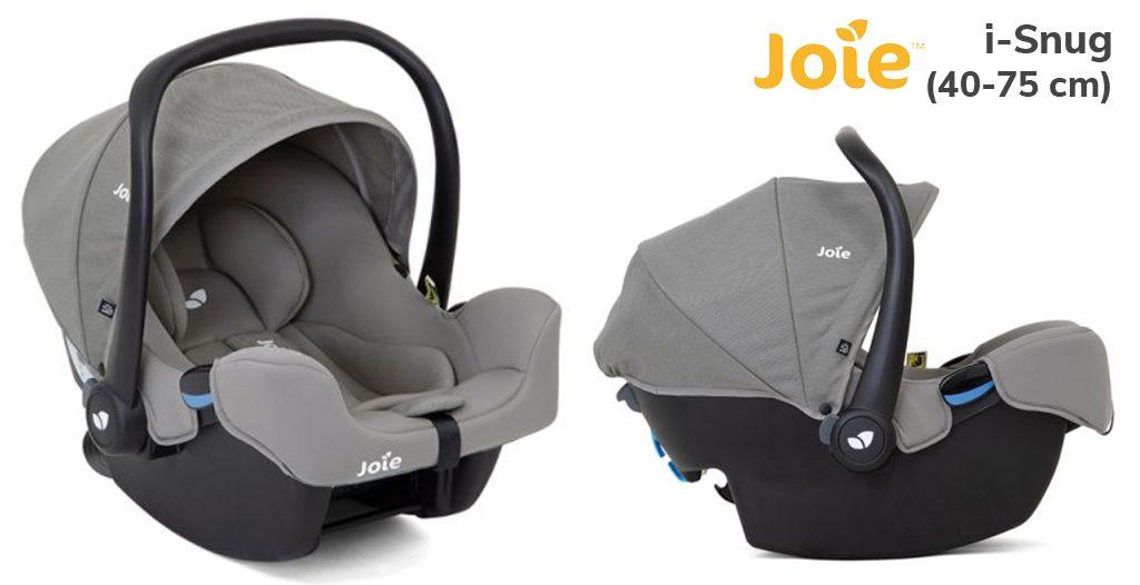 Jaki fotelik dla noworodka - Joie i-Snug - Blog - Sklep-Smile.pl