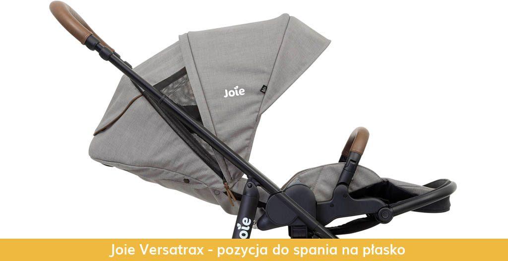 Joie Versatrax - pozycja do spania na płasko