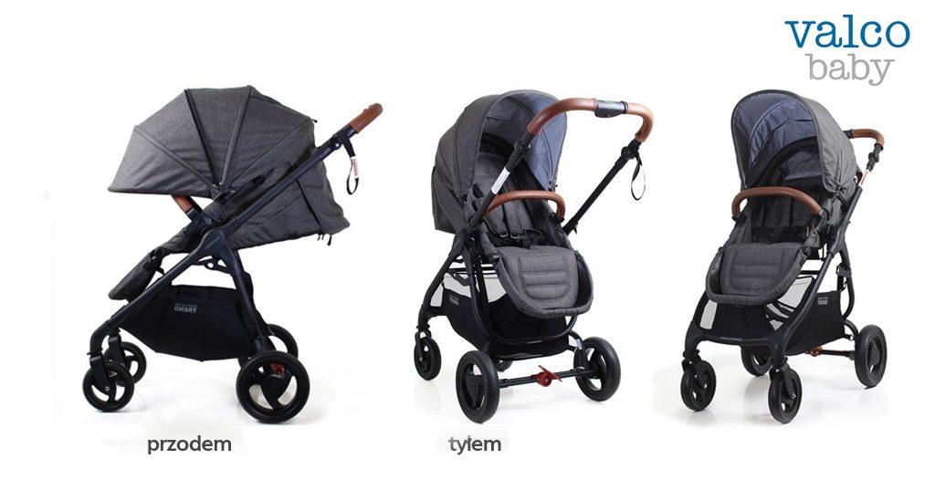 Jaka spacerówka z przekładanym siedziskiem - Valco Baby Snap 4 Ultra Trend