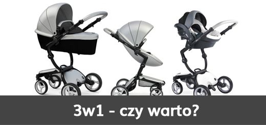 czy warto kupić wózek 3w1 - blog - sklep-smile.pl