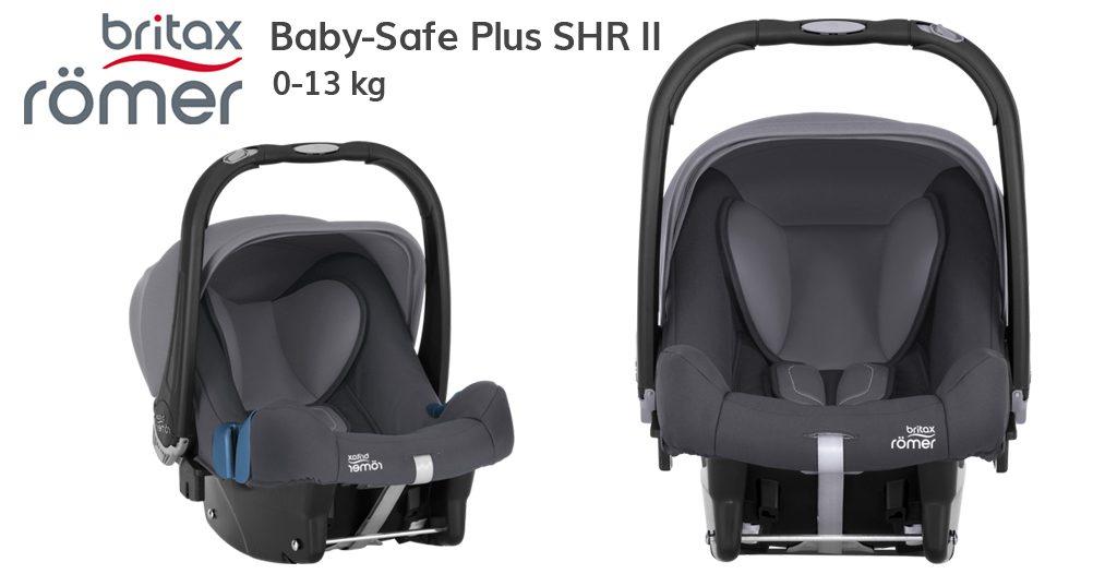 Jaki fotelik do samolotu - Britax Römer Baby-Safe Plus SHR II