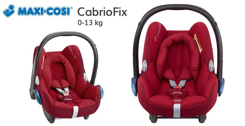 Jaki fotelik do samolotu - Maxi Cosi Cabriofix