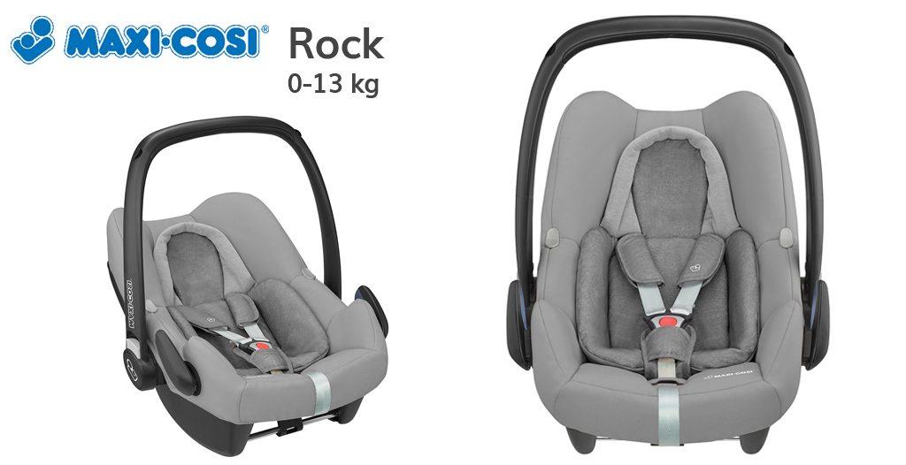 Jaki fotelik do samolotu - Maxi Cosi Rock