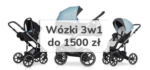Jaki wózek 3w1 do 1500 zł?