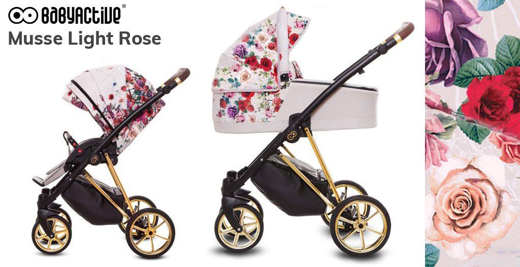 Wózki dziecięce w kwiaty - BabyActive Musse - Blog - Sklep-Smile.pl