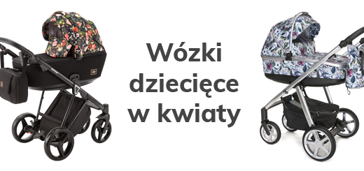 Wózki dziecięce w kwiaty - Blog - Sklep-Smile.pl
