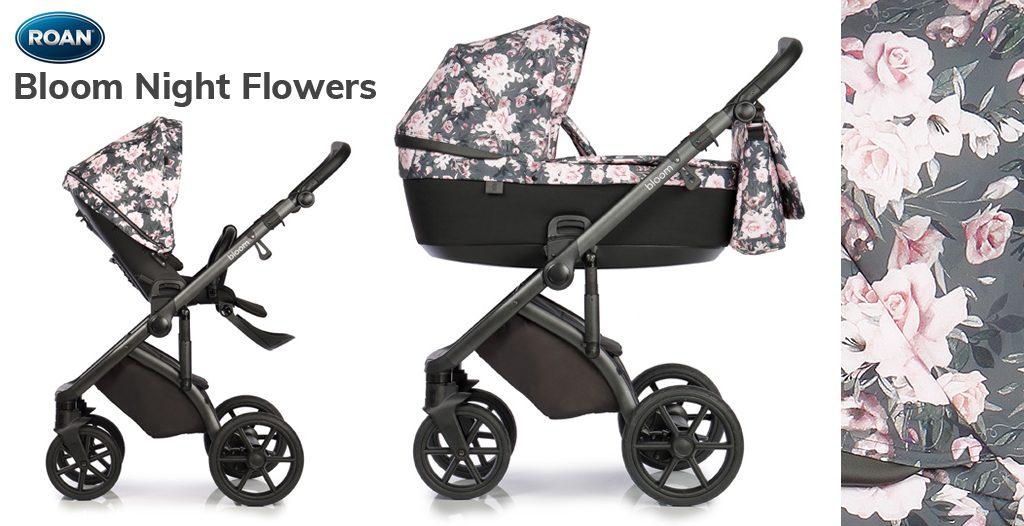 Wózki dziecięce w kwiaty- Roan Bloom - Blog - Sklep-Smile.pl