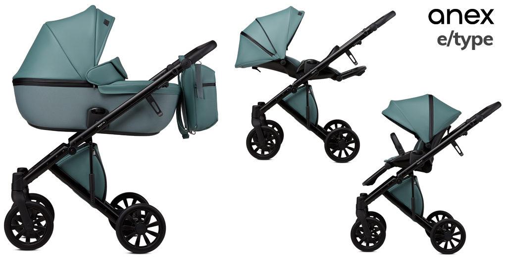 Wózki dziecięce 2020 - Anex e/type - Blog - Sklep-Smile.pl