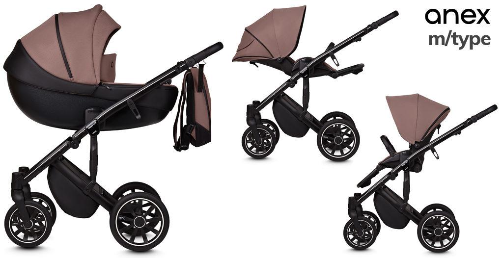 wózki dziecięce 2020 - Anex m/type  -Blog - Sklep-Smile.pl