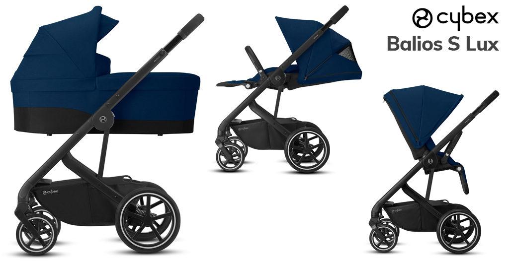 Wózki dziecięce 2020 - Cybex Balios S Lux 2w1 - Blog - Sklep-Smile.pl