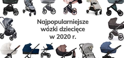 wózki dziecięce 2020 - najpopularniejsze modele - Blog - Sklep-Smile.pl