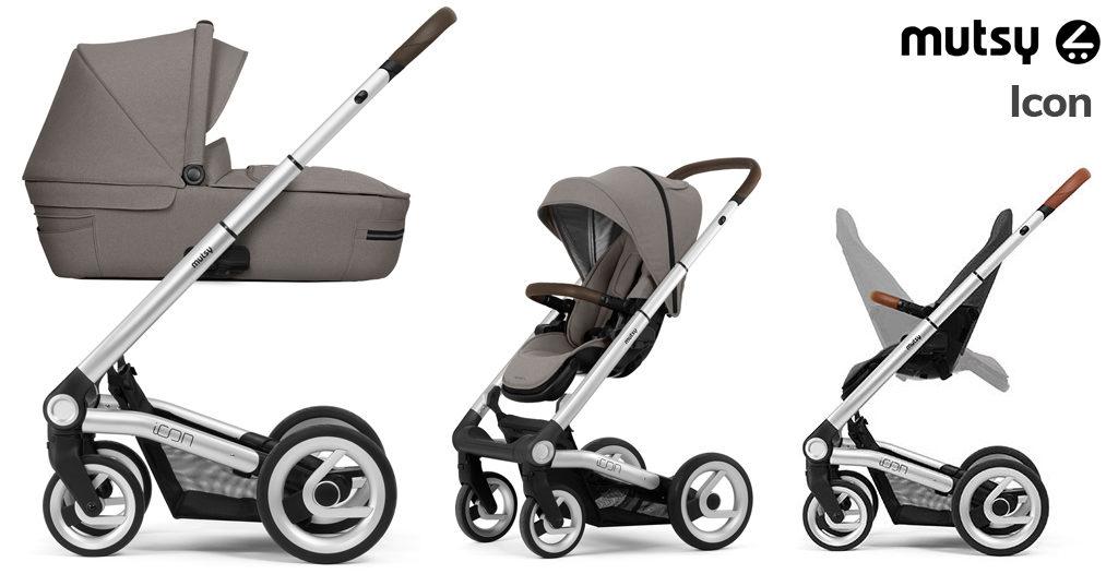 Wózki dziecięce 2020 - Mutsy Icon - Blog - Sklep-Smile.pl