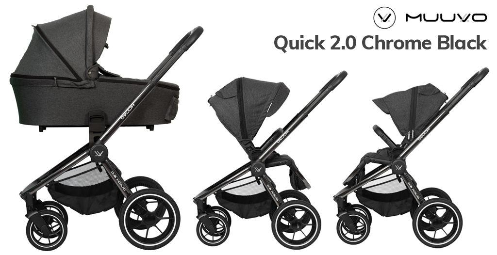 Wózki dziecięce 2020 - Muuvo Quick 2.0 - Blog - Sklep-Smile.pl