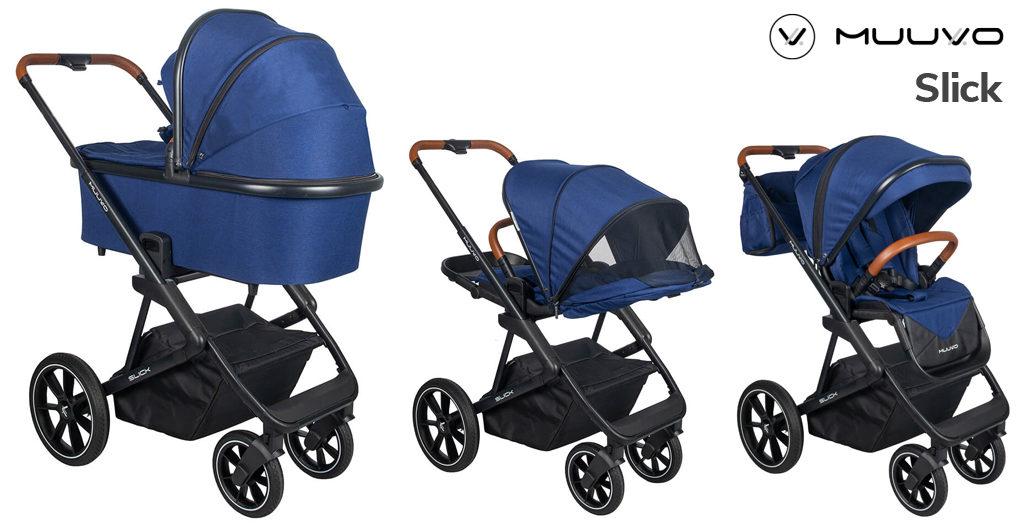 Wózki dziecięce 2020 - Muuvo Slick - Blog - Sklep-Smile.pl