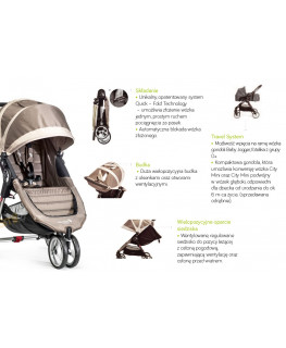 Baby Jogger City Mini+GRATIS