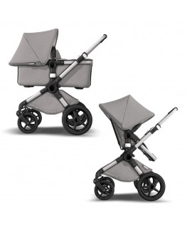 Bugaboo Fox 2 Mineral+fotelik (do wyboru)