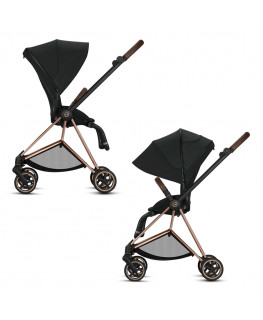 Cybex Mios 2.0 Chrome Black Frame