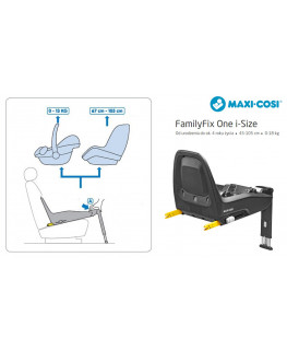 Baza Maxi-Cosi FamilyFix One i-Size (45-105 cm)
