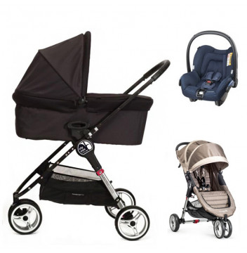 Baby Jogger City Mini+gondola+fotelik (do wyboru)