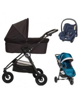 Baby Jogger City Mini GT+gondola+fotelik (do wyboru)