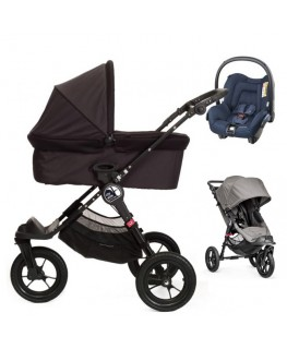 Baby Jogger City Elite+gondola+fotelik (do wyboru)