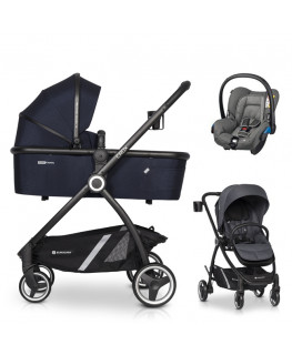 Euro-Cart Crox+gondola+fotelik (do wyboru)