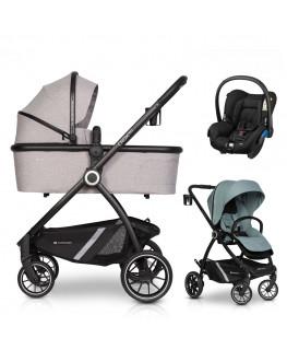 Euro-Cart Crox Pro+gondola+fotelik (do wyboru)